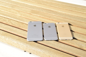 iPhone 6 Plus, iPhone 6 Spacegrau & Gold